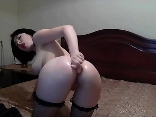 Kendall Jenner webcam solo look alike masturbation
