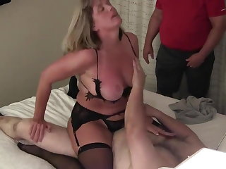 Cuck wife has intense orgasms