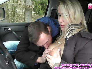 german hitchhiker teen pick up and fuck