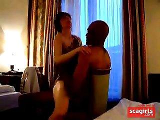 FKK Cap D'Agde Motel Fuck Girl and Friend