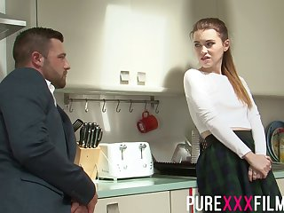 Womanizer seduces naughty girlfriend's sister and fucks her miff and pussy