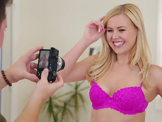 Blonde cutie Summer Day loves a hard shaft more than anything else