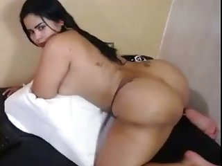horny latina stepmom loves to stream on webcam