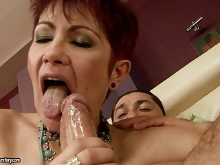 Hairy Mother I´d Like To Fuck Gets A Good Fornicate - HD video