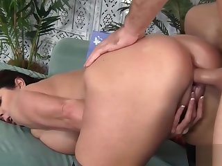 iAmPorn - Big ass golden-haired MILF loves doggy style