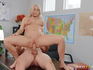 Female teacher rides her student in unbelievable modes