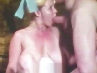 Busty Teen with Hairy Cunt in Xxx Action (1970s Vintage)