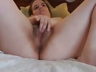 horny stepsister fingering and sucking my dick on cam