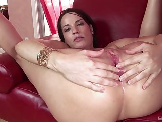 Strong vaginal and anal sex with a black lover