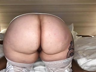 sBBW in homemade interracial porn action with cumshot