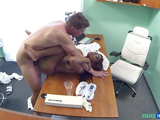 Ebony woman is being taped in secret when doing nasty things
