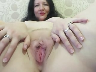Adult Mother Shows Her Body