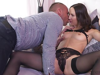A romantic foreplay to set things for a marvelous fuck play