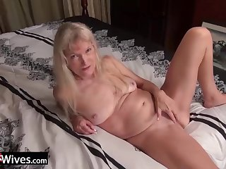 Horny babes got dresed up only to strip down and enjoy masturbation with sextoys